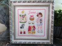 Paper doll Jane Fiche