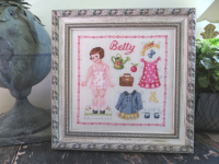 Paper doll Betty Fiche