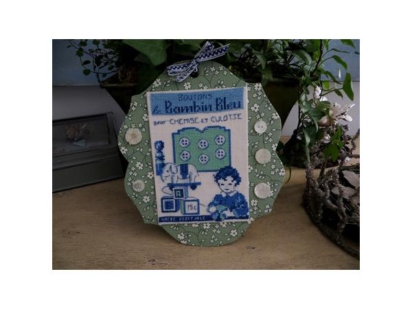 Planche boutons petit bambin Kit