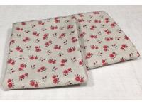 Tissu Coton 110 cm de large - au choix 1m ou 50cm