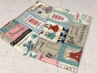Tissu coton en 110cm de large - au choix 1m ou 50cm