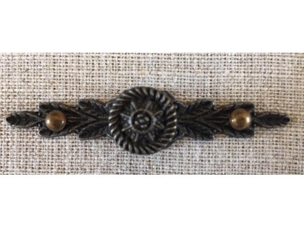 Poignée bouton Bronze
