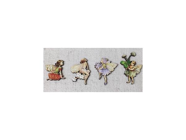 Elfes-Lot de 4 figurines