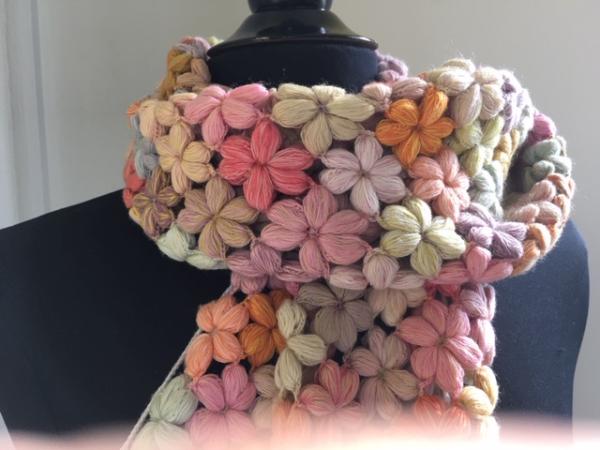 Echarpe en laine Mérinos