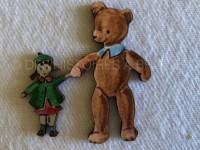 Léon et Poppy figurine