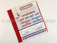 Cahier de devoirs - Page...