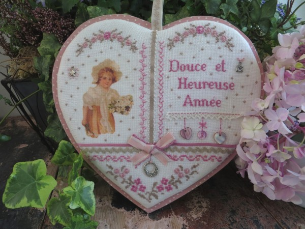 Coeur douce et heureuse année