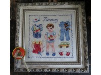 Paper doll Danny Fiche