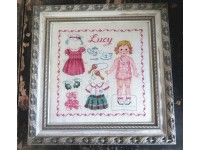 Paper doll Lucy Fiche