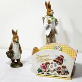 Je vous souhaite de Joyeuses Pâques !! #lapinsdepaques #clochesdepâques #oeufdepaques #broderiedepaques #pointdecroix #cartonnagem #faitmain #www.deshistoiresabroder.com