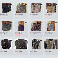 -50 % sur tous les produits Sophie Digard sur le site www.deshistoiresabroder.com Du 27 nov au 6 déc.  #cadeaunoel  #cadeau  #sac #echarpes  #sophiedigardscarf # lin #laine #raphia #blackfriday #digard  #faitmainenfrance